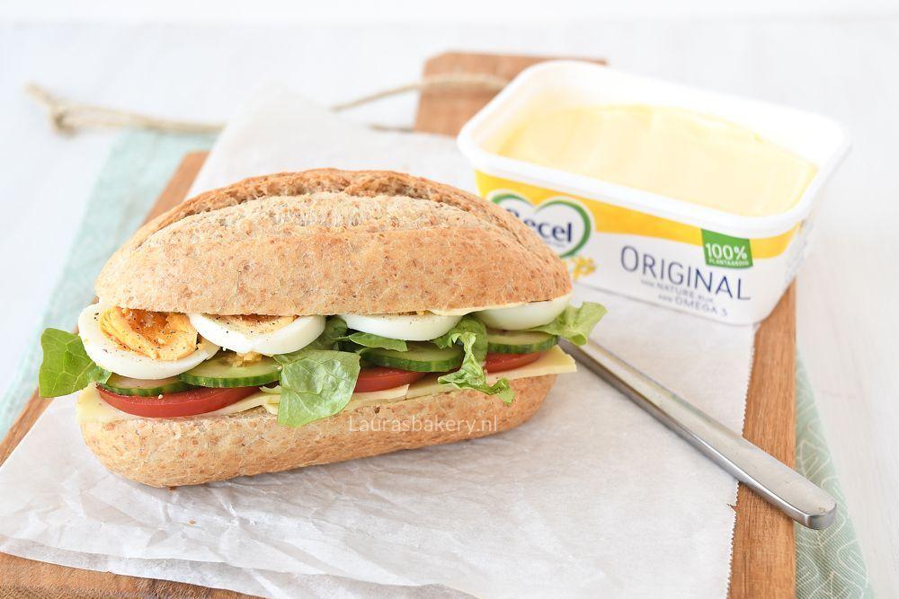 Goede 3x belegde broodjes voor de lunch - Laura's Bakery PL-95