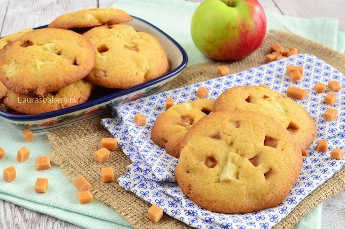Appel-karamel koekjes 2a