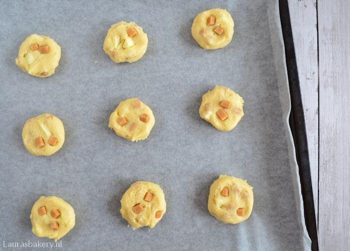 Appel-karamel koekjes 4a