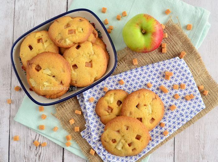 Appel-karamel koekjes 5a