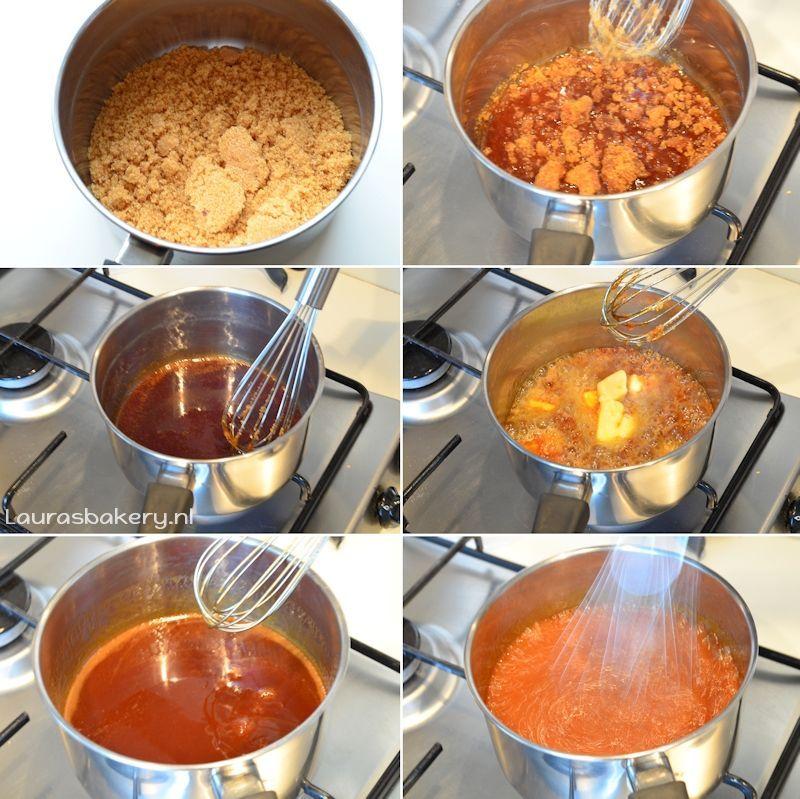 Cinnamon Rolls met pecannoten en karamelsaus