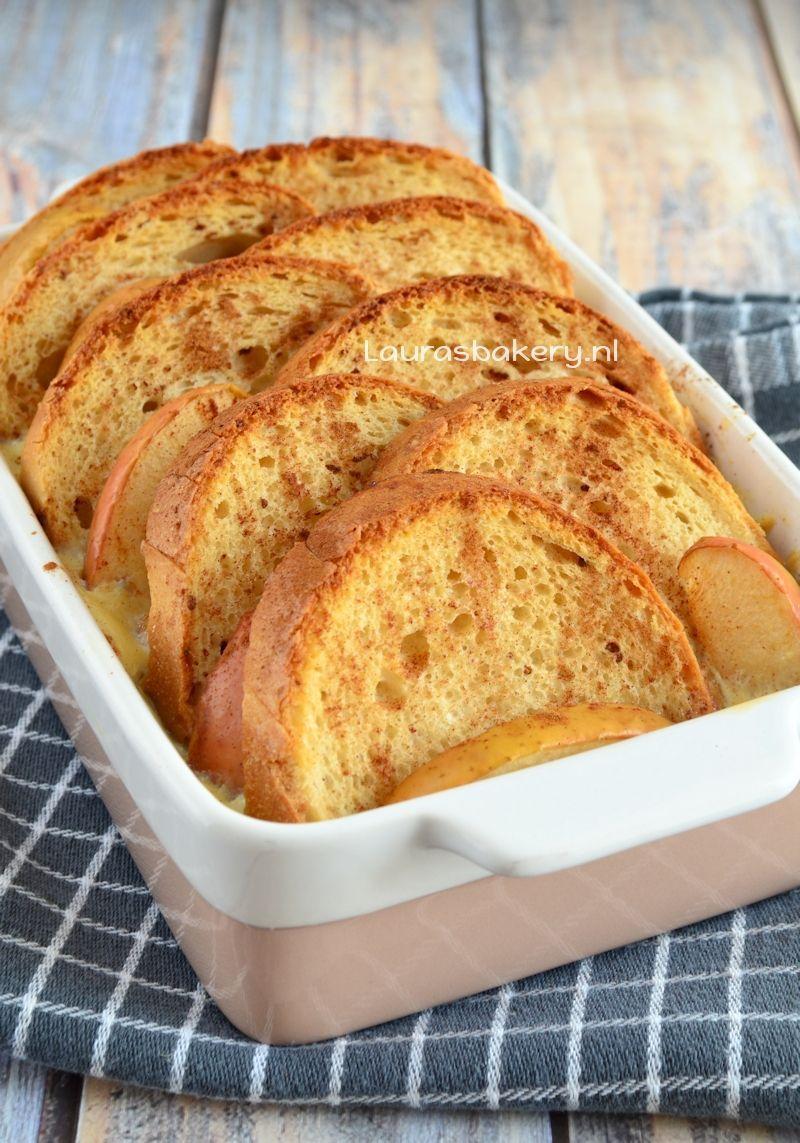 Glutenvrije broodpudding