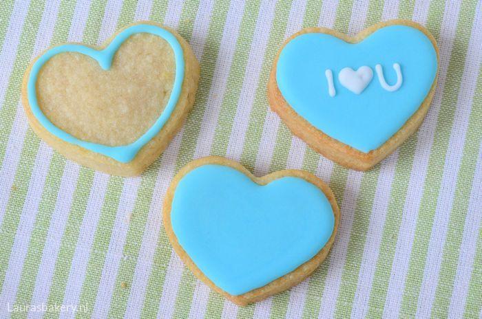 Harten koekjes met lieve boodschap 2a