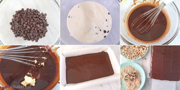 Hazelnoot chocolade truffels 2a