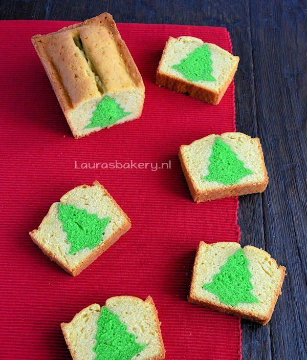 Kerstboom cake 5a