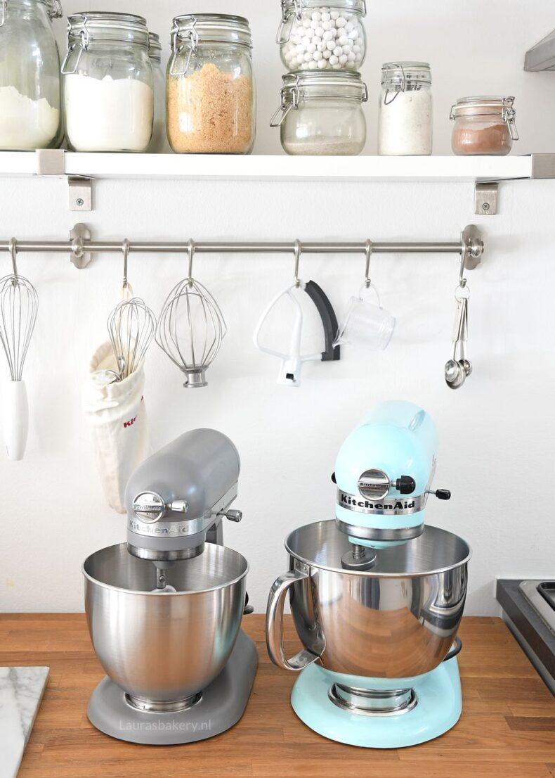 Verschillende soorten KitchenAid mixers