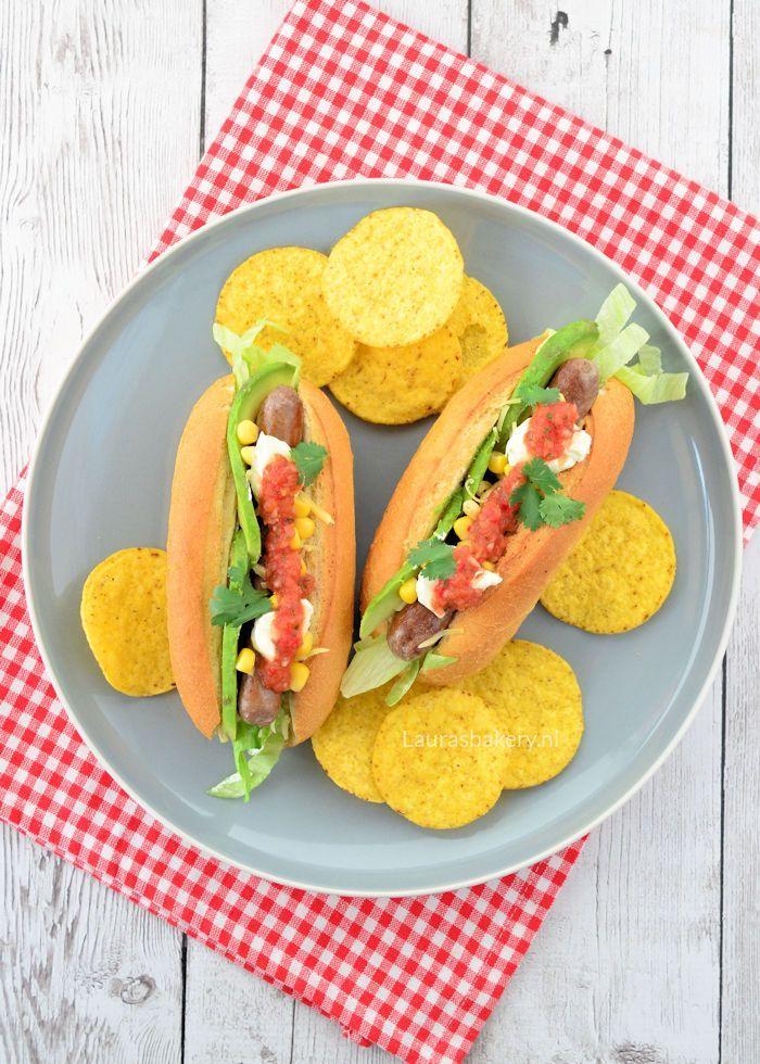 Mexicaanse hotdogs 1a