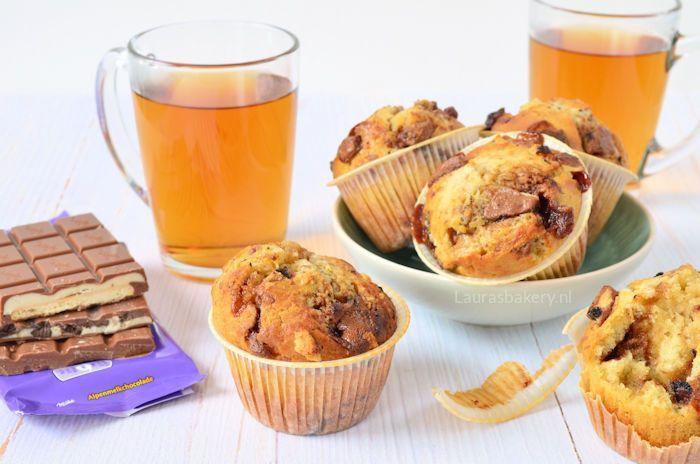 Milka chocolade muffins 4a