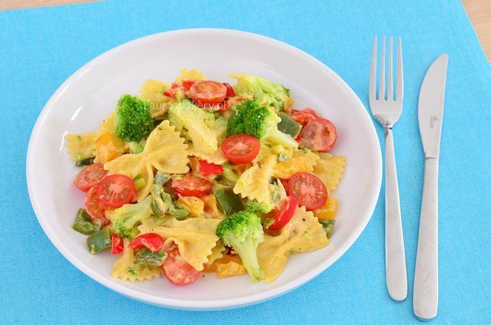 Pasta met broccoli en kaassaus 2a