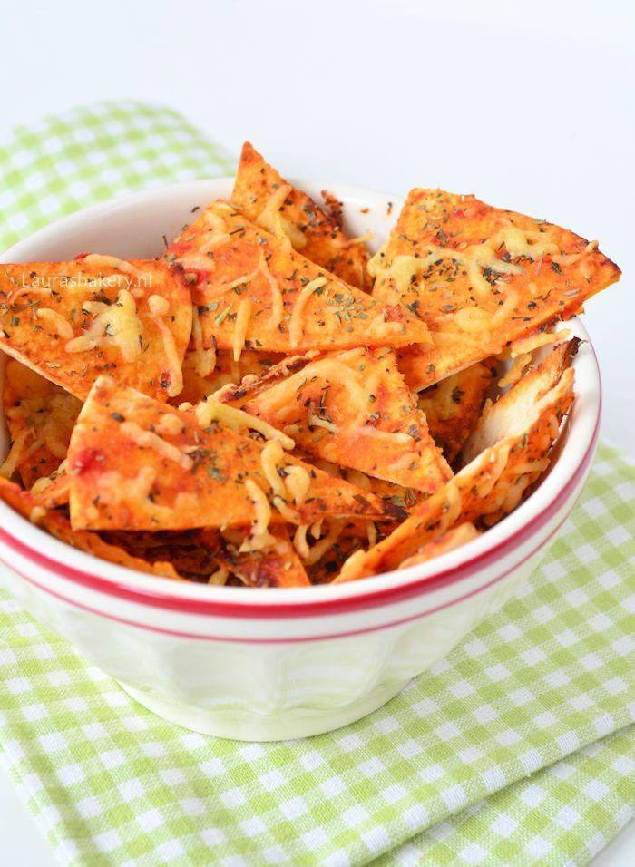 Pizza tortilla chips 1a