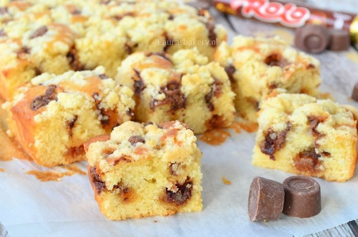 Rolo crumble cake 2a