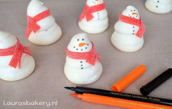 Sneeuwpop Schuimpjes 6a