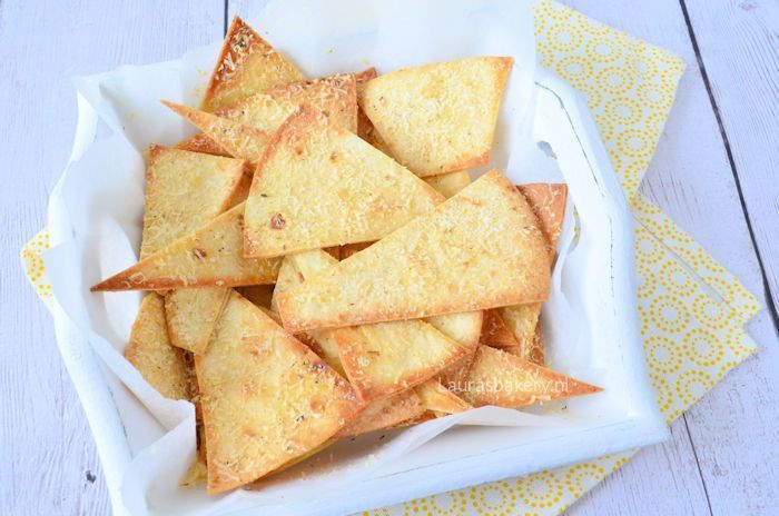 Tortilla chips met Parmezaanse kaas 3a