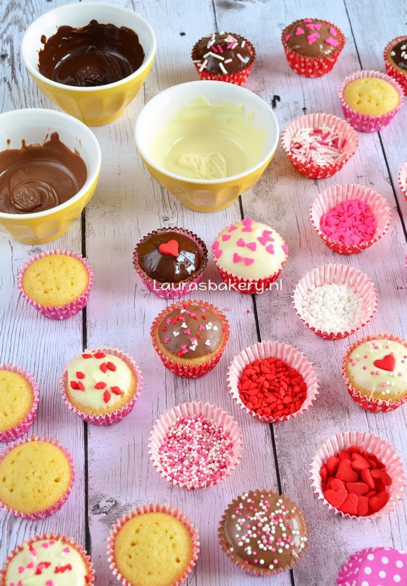 Valentijn cupcake party