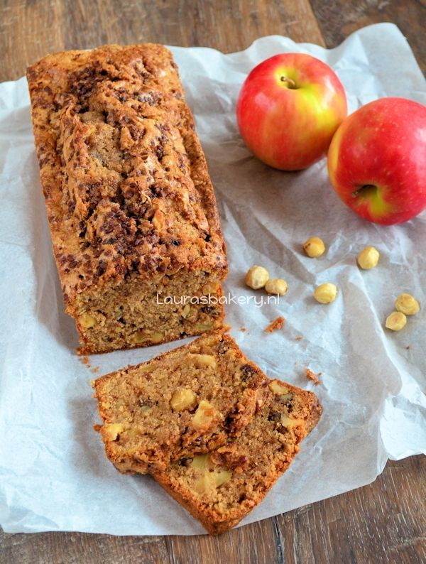 appel-kaneel cake noten 1a