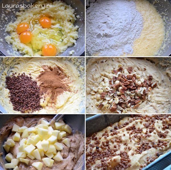 appel-kaneel cake noten 3a