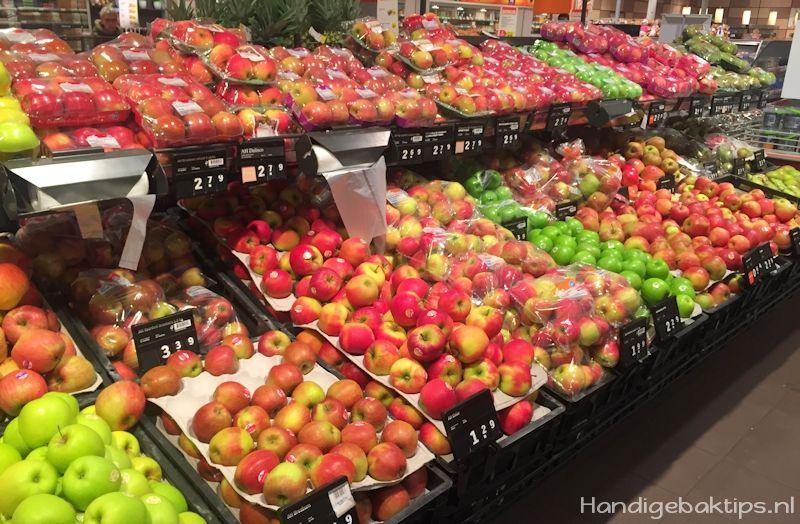 verschillende soorten appels om te bakken