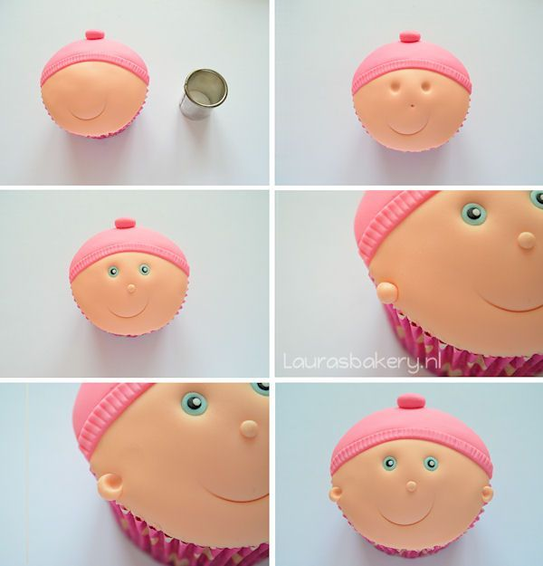 baby cupcakes 6a