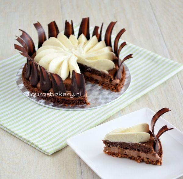 chocolade karamel taart 1a
