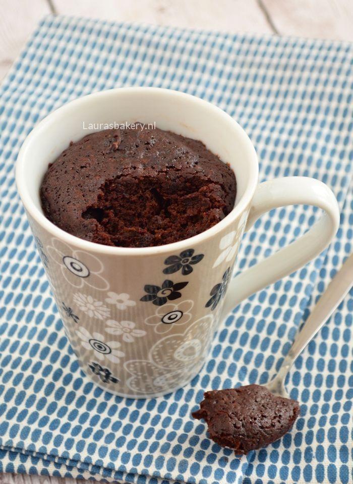 chocolade mug cake 1a