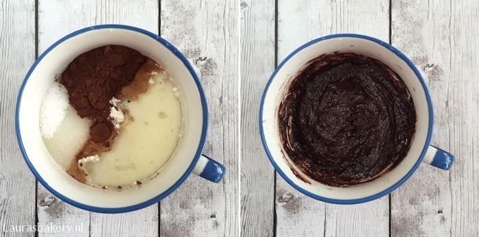 chocolade mug cake 2a