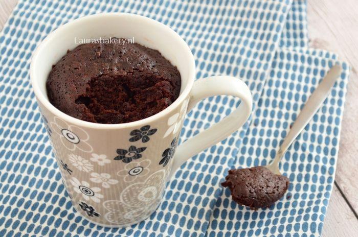 chocolade mug cake 3a