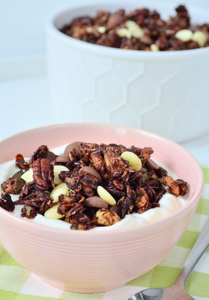 chocolade noten granola 1a