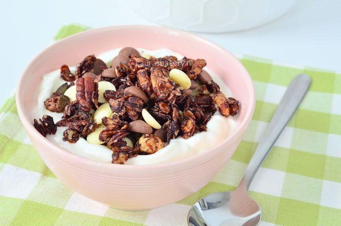 chocolade noten granola 2a