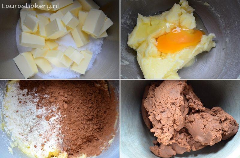 chocolade suikerkoekjes