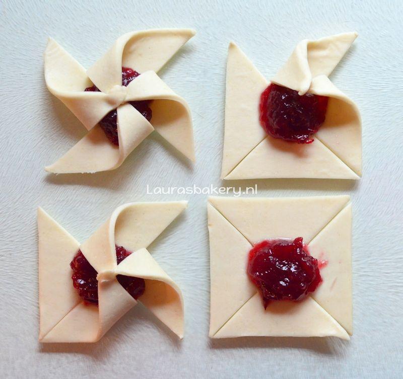cranberry bladerdeeg molentjes