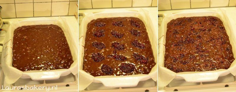 cranberry brownies