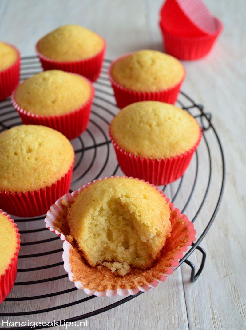 waarom zakken cupcakes in