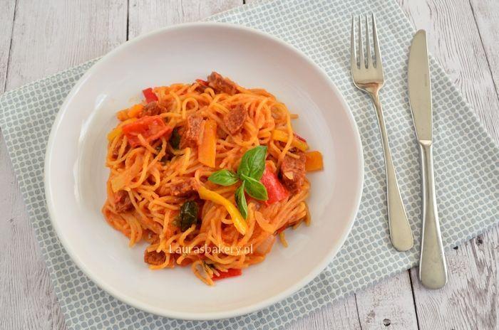 eenpans pasta met chorizo 3a