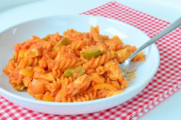 eenpans pasta met kip 2a