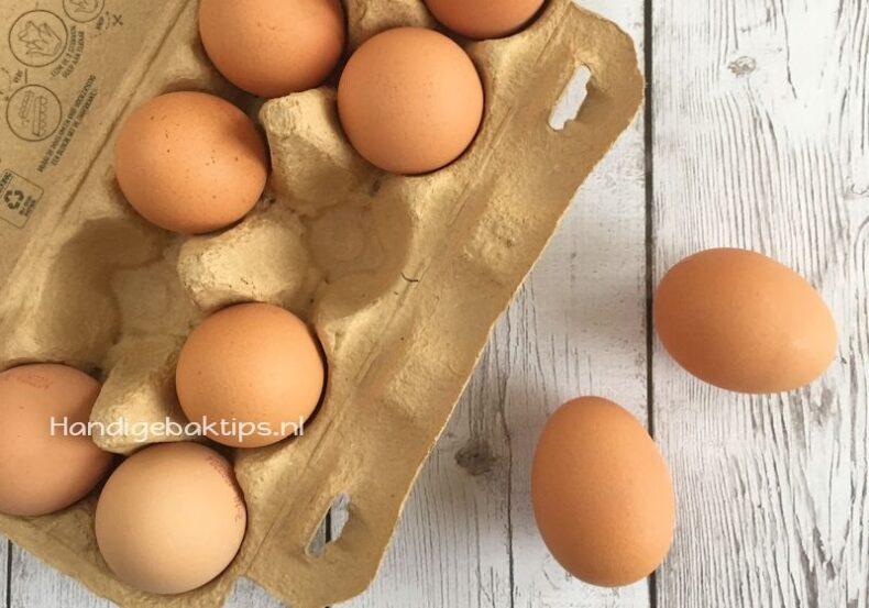 Eieren vervangen bij het bakken doe je zo!