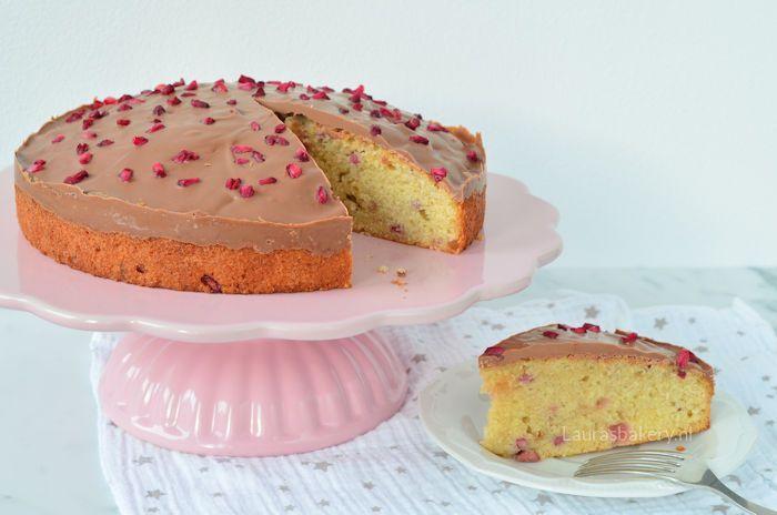 granaatappel cake met chocolade 4a
