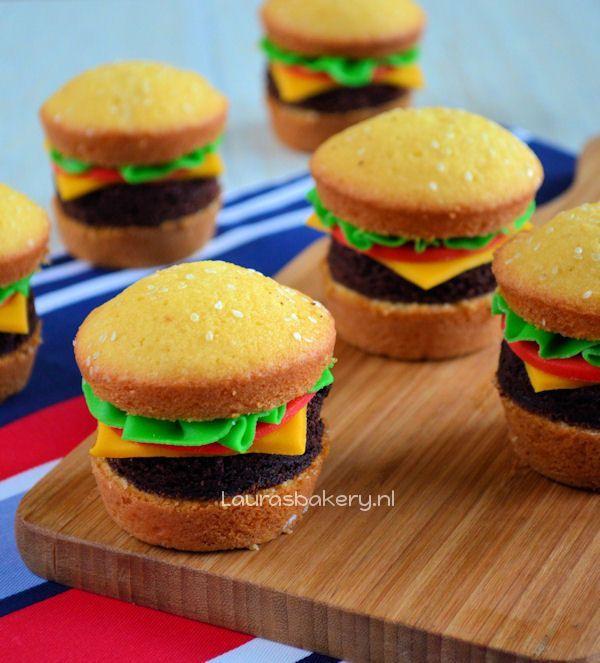 hamburger cupcakes 1a