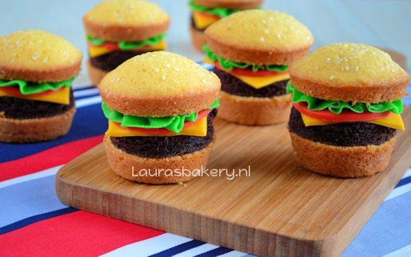 hamburger cupcakes 2a