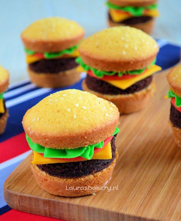 hamburger cupcakes 4a