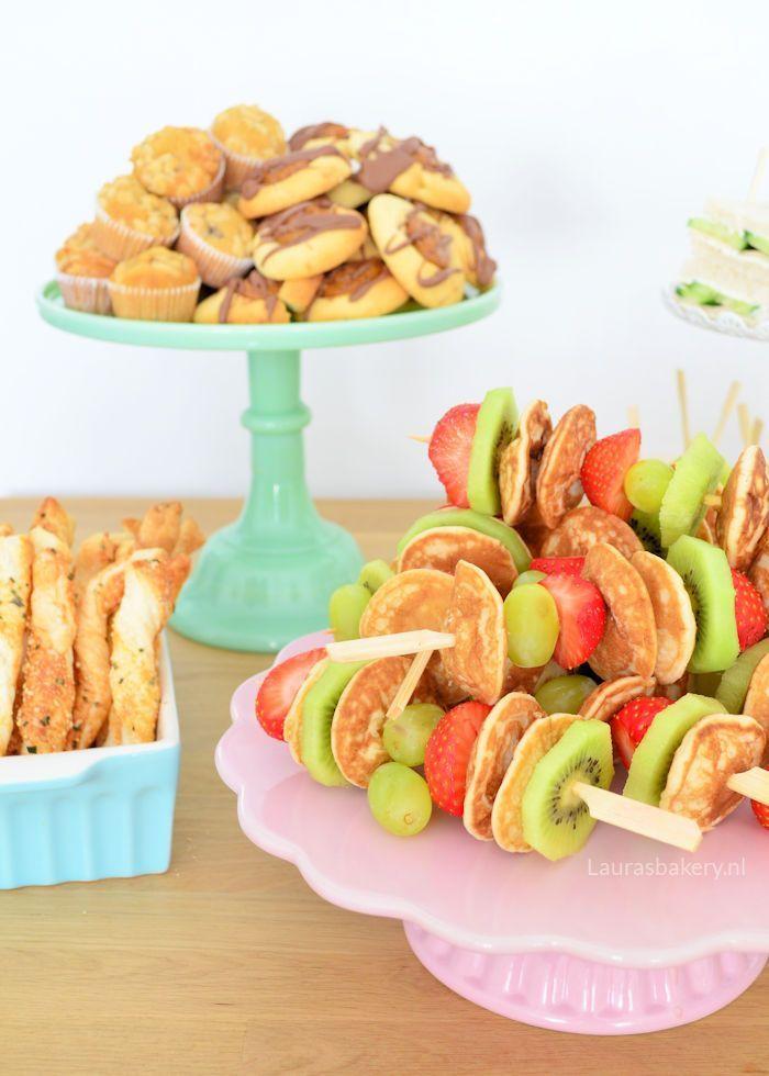 Ongebruikt High tea organiseren: tips en recepten - Laura's Bakery KG-34