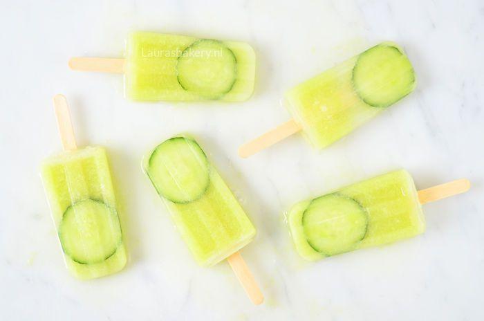 komkommer limoen ijsjes 2a