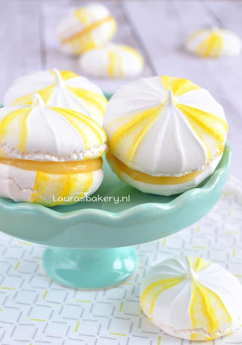 lemon meringue sandwiches