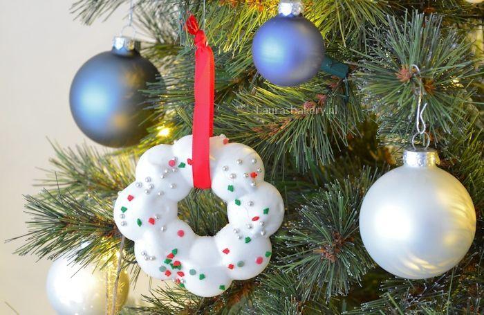 meringue kerstkransjes 3a