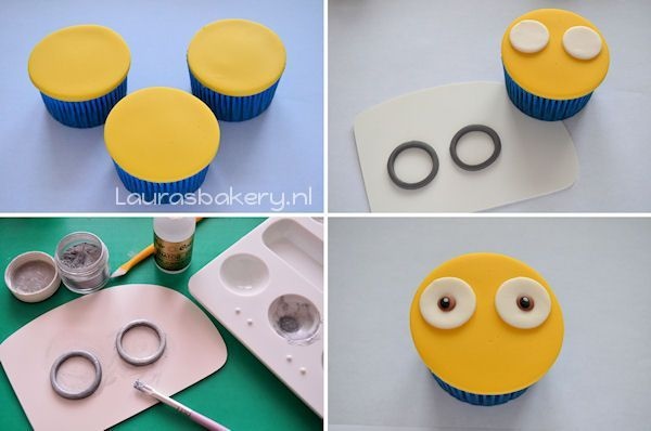 minion cupcakes 3a
