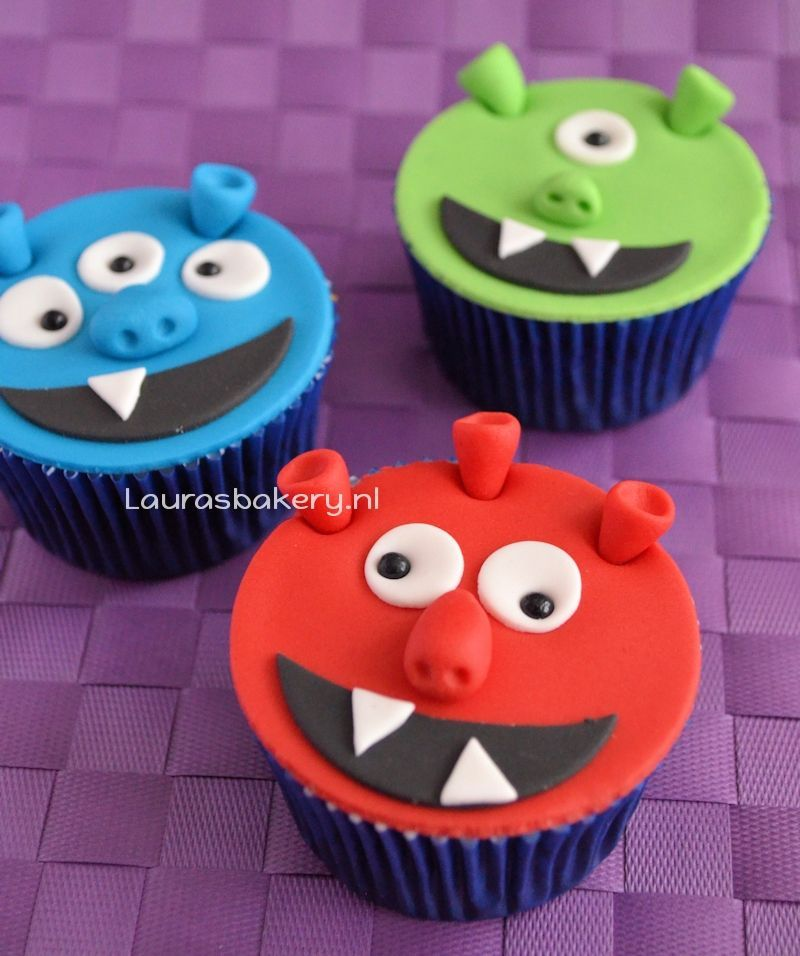 monster cupcakes 1a
