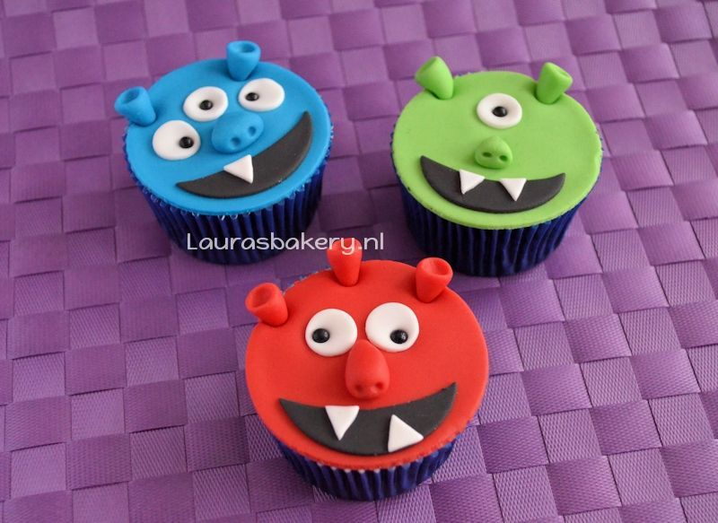 monster cupcakes 2a