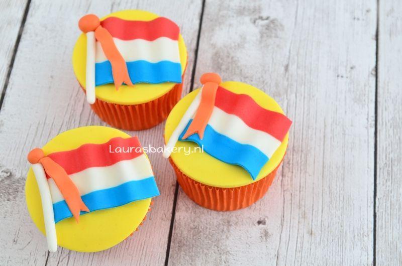 nederlandse vlag cupcakes 2a