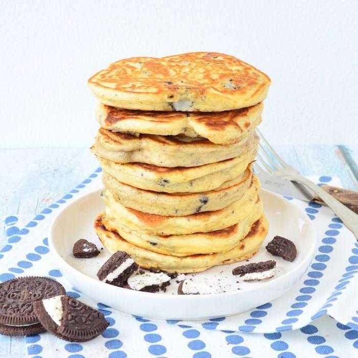oreo pancakes uitgelicht
