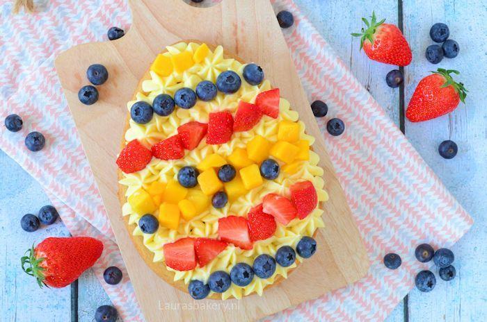 paasei sloffenbodem met fruit 4a