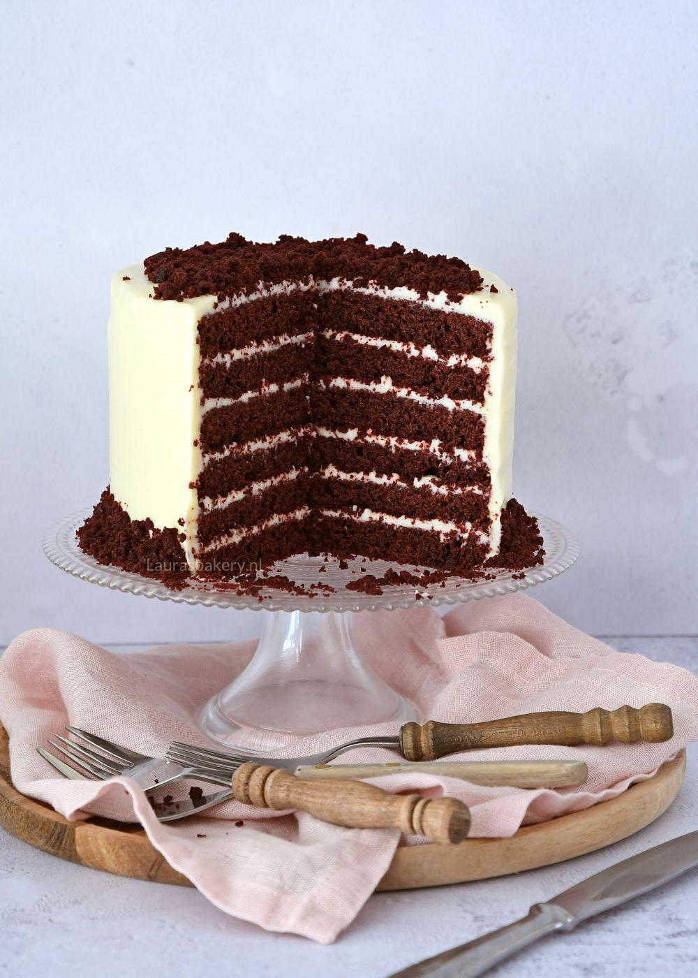 Verwonderend Red velvet taart - Laura's Bakery JE-07